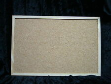 Nobo Countdown Cork Notice Pin Board 400x600 mm Wood Frame Landscape or Portrait