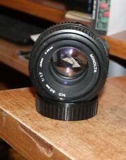 Minolta MD 50mm f/1.7 LENS GOOD CONDITION NO FUNGUS