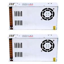 2x Ac 110v 220v To Dc 12v 30a 360w Regulated Switching Power Supply Transformer