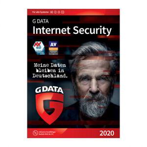 G DATA Internet Security 2020, 5 Geräte / 1 Jahr, Download