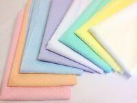 Tiny Polka Dot Pastel Polycotton Fabric * Blue Mint Peach White Ivory Pink Lilac