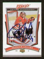 Patrick Lalime signed autograph Upper Deck Hockey Card