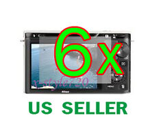 6x Clear LCD Screen Protector Guard Film For Nikon 1 J1 Digital Camera