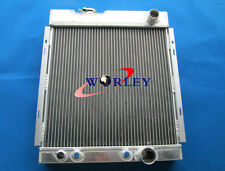 3 ROW FORD MUSTANG V8 289 302 WINDSOR ALUMINUM RADIATOR 64 65 66