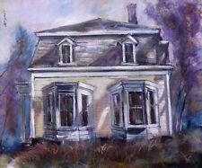 Wellfleet Cape Cod Home 19x23 in.  Original  Oil on canvas  Hall Groat II
