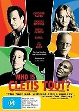 Who Is Cletis Tout? (DVD, 2012) Region 4 Comedy DVD Rated M Brand NEW & Sealed