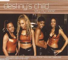 DESTINY'S CHILD - Say My Name (UK 3 Trk CD Single Pt 1)