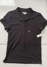 New Aeropostale Junior Girls Black Stretch Uniform Polo Shirt, Size Xl