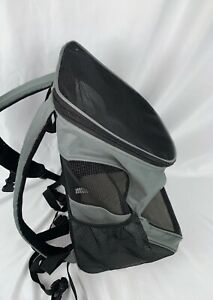 """PetAmi Pet Carrier Backpack for Small Cats and Dogs Charcoal Ventilated 12""""x16"""""""