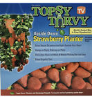New Topsy Turvy Upside Down Strawberry Planter As Seen On TV Grow Up To 15 Qts.