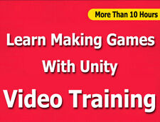 Learn Making Games with Unity for Beginners Video Training Tutorials Cbt- 10+ Hr