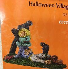 Dept 56 Halloween Village Accessory Creepy Creatures Rats 4038896 New Scarecrow