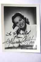 Maureen O´ Hara Autogrammkarte Autograph