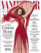 VANITY FAIR Magazine ITALY EMMA STONE Theo James Cynthia Nixon Jennifer Lawrence