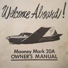 Mooney M20A Owner's Manual