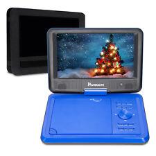 """9"""" TFT Portable DVD Player w Car Headrest Mount Holder USB SD AV-In for Car Kids"""