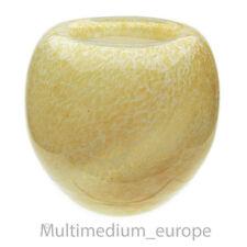 Glas Vase gelb marmoriert WMF Ära DexelEi glass 🌺🌺🌺🌺🌺