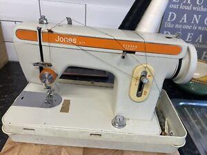 JONES 671 Electric Sewing Machine in Case / Cover