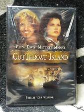 CutThroat Island NEW SEALED DVD Geena Davis Matthew Modine Free Shipping