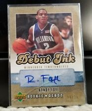 2006-07 Upper Deck Rookie Debut Ink Randy Foye Autograph Auto #d/25 Gold