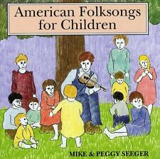 American Folk Songs For Childr - Mike & Peggy Seeger (1997, CD NIEUW)2 DISC SET