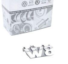 Original VW Passat 3BG W8 Emblem für Kühlergrill Vorne Frontgrill 4Motion *NEU*