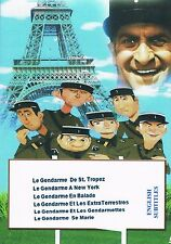 Louis de Funes. Collection 1. Le Gendarme Series French English subtitles Comedy