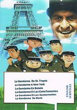 Louis de Funes. Collection 1. Le Gendarme Series French English subtitles Comedy