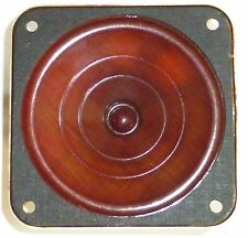 Haut-Parleur militaire US multi-impédance WWII 14 cm x 14 cm  NOS NIB