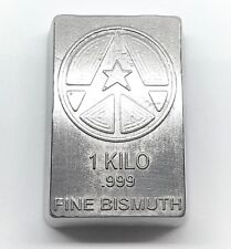 1 Kilo .999 Fine Bismuth Bullion Bar - Hand Poured - Grimm Metals
