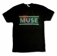 Muse Explode Tour 2013 Black T Shirt New Official Reapers
