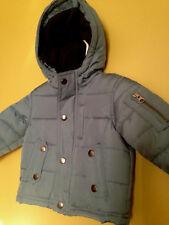 NWT OshKosh B'Gosh Baby Boy Unisex Blue Winter Coat Hooded Jacket 18 M $78