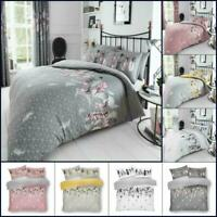 New Print Duvet Cover Set Single Double Super King Size Quilt Feather Bed Set