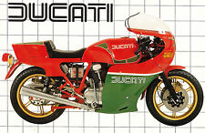 DUCATI Poster MHR 900SS Mike Hailwood Replica Suitable to Frame