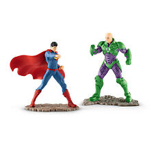 Schleich JUSTICE LEAGUE 22541 Scenery Pack SUPERMAN vs LEX LUTHOR  Neuheit 2016