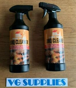 BBQ Cleaner Ready To Use Home & Garden 500ml x 2 NEW