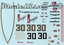 Decal sheet 1/43 March 761B F.1 Ford #30 Sudafrica/USA GP 1977 Brett Lunger NEW