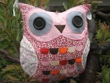 Unbranded Owl Floral Decorative Cushions