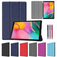 Premium PU Leather Magnetic Stand Flip Case Cover for Samsung Galaxy Tab A 2019