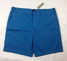 """NWT Men's 9"""" Stanton Garmet-Dyed Shorts in Chatham Bay Blue-size 38"""