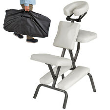 Silla de masaje fisioterapia rehabilitacion sillón de tratamiento tattoo blanco