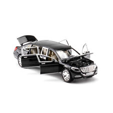 1:24 Mercedes Maybach S600 Diecast Model Car Toy Limousine New in Box Black Gift