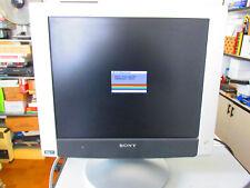 "Sony 17"" TFT Color Flat Panel LCD Monitor SDM-HX73 OK funzionate"