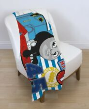 EXTRA LARGE  Thomas The Tank Engine & Friends Fleece Blanket Kids SNUGGLE  Throw