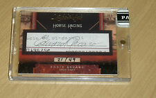 2011 Panini Limited Cuts Eddie Arcaro cut autograph horse racing jockey 21/49