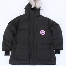 Canada Goose Men's Expedition Parka Black Down Fur Jacket Size Large