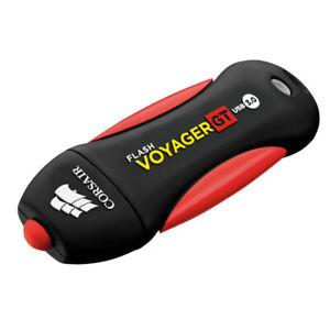 64GB Corsair Voyager GT USB3.0 Flash Drive - Black, Red