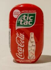 New Stock!  Coca Cola Flavored Tic Tac 200 count 98g LIMITED EDITION