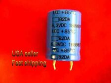 9 pcs   -   18000uf   6.3v   electrolytic capacitors  FREE SHIPPING