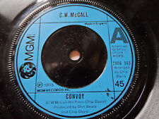 """C.W McCall Convoy 7"""" Single MGM 1975 VG+ Condition.."""